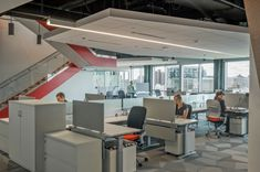CLIENT: Takeda Pharmaceuticals LOCATION: Cambridge, MA INTERIOR DESIGNER: Fusion Design Consultants Linear System, Fusion Design, Donut Shape, Linear Lighting, Open Office, Extruded Aluminum, Simple Shapes, Design Consultant, How To Slim Down