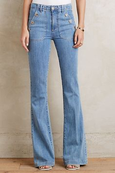 Paige Bell Canyon High Rise Jeans #anthropologie