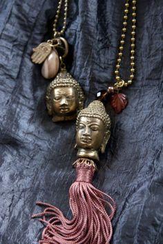Buddha  pendants,Tambo handicraft store, Jalan raya Kerobokan, Bali