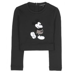 Marc Jacobs Mickey Mouse Embellished Pullover ($1,354) ❤ liked on Polyvore