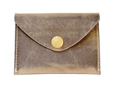 Brown Vintage Leather Coin Purse