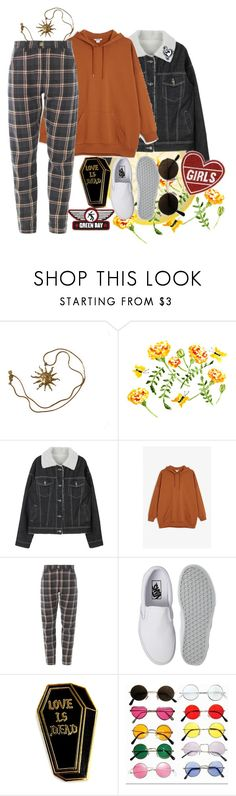 """Sin título #222"" by starscounter394 ❤ liked on Polyvore featuring Anne Klein, Monki and Vans"