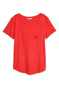Camiseta en punto flameado