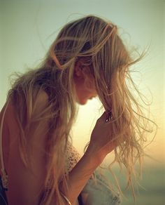 I love photos of hair like this.