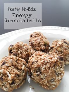 Quick and easy Granola Balls. Healthy and great snack to keep you full from meal to meal.
