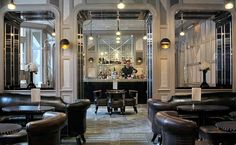 David Collins: The Connaught Bar, London