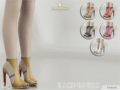 Madlen Lampedusa Shoes by MJ95 at TSR • Sims 4 Updates