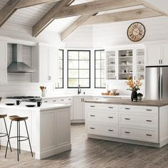 Axstad is a first true white shaker doors style available IKEA. Ideal for modern kitchens. Quickly becoming one of the most popular IKEA kitchen lines Stock Kitchen Cabinets, White Shaker Kitchen Cabinets, Glass Kitchen Cabinet Doors, Kitchen Cabinet Pulls, White Cabinets, Kitchen Island, White Ikea Kitchen, Ikea Kitchen Design, Walnut Kitchen