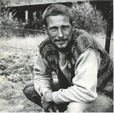 Oct. 7:  Gary Snyder (b.1930) read his poem, A BERRY FEAST (in PDF below) at the Six Gallery poetry reading in San Francisco, where Kenneth Rexroth acted as master of ceremonies. Allen Ginsberg, Philip Lamantia, Michael McClure and Philip Whalen also read at the famous event. http://790newmedia.wikispaces.com/file/view/GarySnyderBerry.pdf