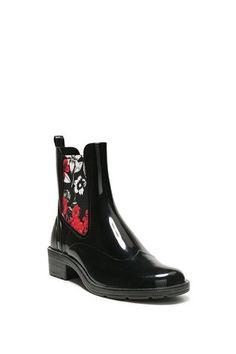 Stiefeletten Mid Rain Boot BN&Red 17WSAPB9_2000_B