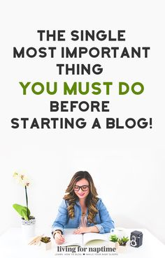 I see so many people make this mistake and end up scrambling to figure it out once their blog is already live! Do yourself a favor and do this one thing before starting a blog because it will impact who reads your blog and how much money you can make from it.