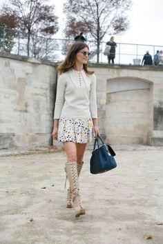Hanneli Mustaparta at Paris Fashion Week #pfw #paris #streetstyle