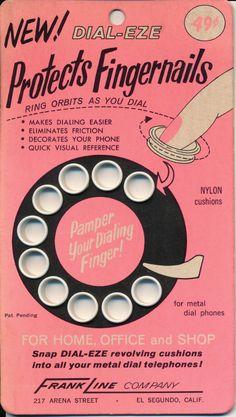 Dial-Eze, pamper your dialing finger.