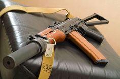 AK74U suppressed