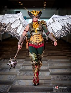 Hawkgirl Cosplay by spring-steel on DeviantArt