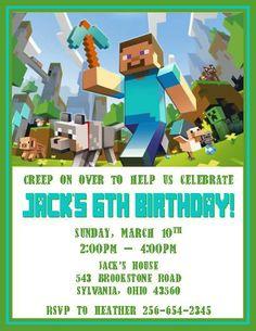 Minecraft Invitations #2