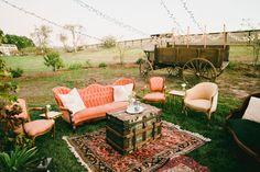Romantic Olympia's Valley Estate Wedding: Lydia + Brandon Lounge Seating, Outdoor Lounge, Lounge Areas, Outdoor Decor, Wedding Furniture, Lounge Furniture, Outdoor Furniture Sets, Wedding Lounge, Wedding Seating
