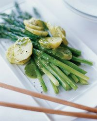 Asparagus and Potato Salad with Riesling-Tarragon Vinaigrette Recipe ...