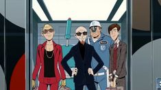 The Ventures are back! And they're movin' on up to a deluxe apartment in the sky. But will mo' money bring mo' problems? And can The Monarch handle the commute? Comedy Cartoon, Cartoon Tv, The Ventures, Bravest Warriors, Swim Sets, A Series Of Unfortunate Events, Best Tv Shows, Teenage Mutant, Tv Series
