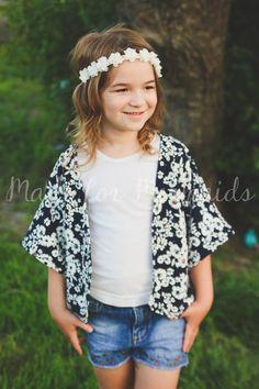 Toddler Kimono pattern