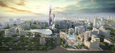 Opinion: No, 'PR-chitecture' won't save us from the pandemic Future City, Ghana, Cities In Africa, Solar Energy Projects, Futuristic City, Vida Real, Sustainable Tourism, City Landscape, Modern City