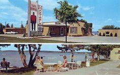 Paul Bunyan Motel, Bemidji Minnesota, 1967 Vintage Postcards, Vintage Ads, Bemidji Minnesota, Paul Bunyan, Water Heating, Going Home, Types Of Art, Great Places, Ox
