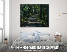 Discover «Enchanted Forest», Limited Edition Canvas Print by Glink - From $79 - Curioos