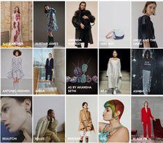 London Fashion Week Designers February 2018 Fashion Events, Fashion News, School Fashion, London Fashion, Celebrity Style, Beauty Hacks, February, Designers, Chic