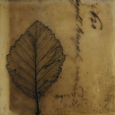 The Creative Commitment » Creating An Annual Tradition – Ever More Love and Gratitude – A Calligraphy Inspired Encaustic Series