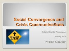 Social Convergence and Crisis Communications