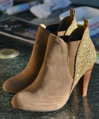 Hey Twinkle Toes! DIY Your Own Sparkly Boots