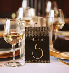 Digital File  Art Deco Table Numbers  Black by BeautifullyBevilled, $15.00