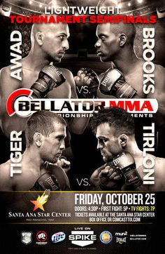 Bellator 105 Awad vs. Brooks Fightcard