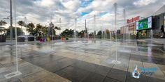Fountain at Coresi Shopping Resort, Brasov - Romania Brasov Romania, Fountain Design, Portfolio Design, Sidewalk, Shopping, Walkway, Walkways