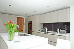 Cashmere Kitchen Island - Kitchen island design - Discover more at www.lwk-home.com