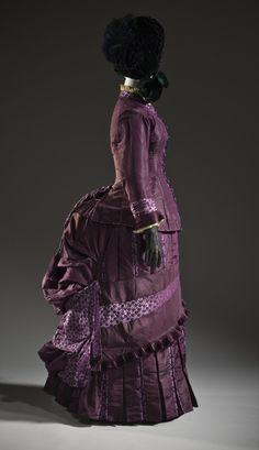 1885 dress via The Los Angeles County Museum of Art