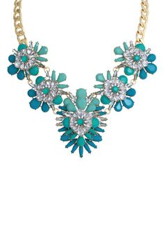 Marquise Blooming  Necklace