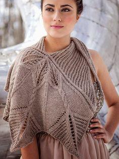 Lindíssimo trabalho em tricô.. Chique para embelezar qualquer mulher....                              ...
