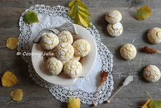 COOKING JULIA  : LEMON CRINKLES (CRAQUELÉS AU CITRON)