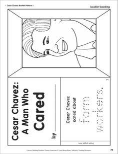 Cesar Chavez Lapbook | Cesar chavez, Character trait and File folder