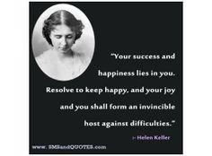 Top Ten Hellen Keller Quotes