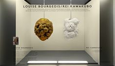 Rei kawakubo and louise bourgeois come together in our newest window installation Louise Bourgeois, Rei Kawakubo, Artist Monet, Kids Clay, Watercolor Video, Famous Artists, Visual Merchandising, Healthy Living, Window