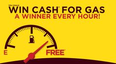 Hershey's is organizing this instant win Sweepstakes and is giving away Cash for Gas to a winner every hour!