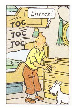 Cabine de Tintin à bord du paquebot Epomeo - Les cigares du pharaon - Hergé