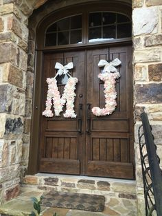 A personal favorite from my Etsy shop https://www.etsy.com/listing/227683378/24-inch-floral-monogram-letter-initial