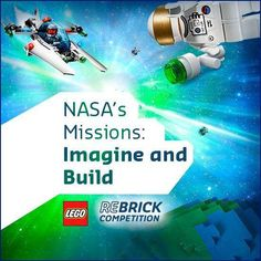 Join us & the LEGO Group today 7/11/2013  at 11 a.m. ET for a Google+ Hangout to learn about our Imagine and Build design competition: http://go.nasa.gov/16c1TcI