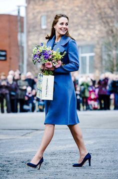 Catherine, Duchess of Cambridge visits the Emma Bridgewater pottery factory to view the production of a mug that the company has launched in support of East Anglia's Children's Hospices | February 18, 2015