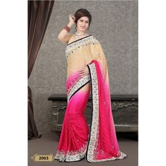 Handwork Designer Saree ( D.No.2063 )