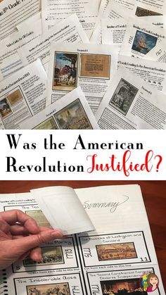 """Dig deep into the content of the causes of the American Revolution while your students explore the essential question """"Was the American Revolution Justified"""" through primary sources and background essays in this American Revolution DBQ."""