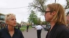 Ellen DeGeneres Tours New Orlean's Make It Right Project With Brad Pitt (Video)